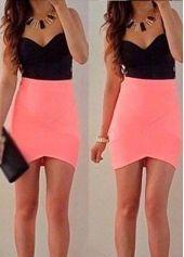 Strap V Neck Short Sheath Dress