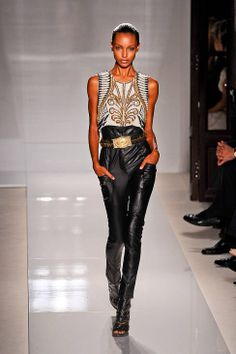 Balmain Spring 2012 Runway - Balmain Ready-To-Wear Collection