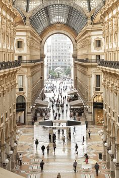 Stunningly beautiful ...Galleria Vittorio Emanuele II ~ Milan