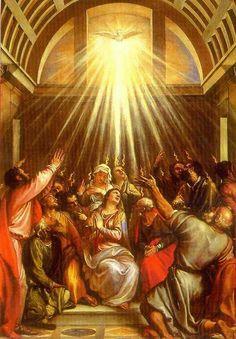 'Come Holy Spirit come through the Heart of Mary.' Amen St Louis de Montfort  HH