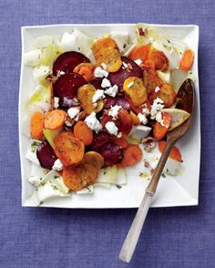 "Favoritt: See the ""Roasted Beet and Carrot Salad"" in our Thanksgiving Salad Recipes gallery"