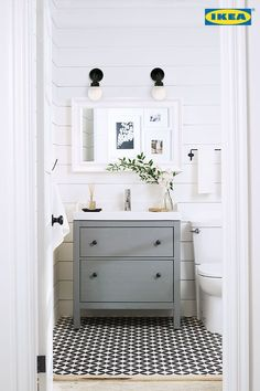 grey chest for the bathroom