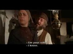 Fiddler On The Roof - Do You Love Me [With Lyrics]...reminds me of Daddy singing it to Mama <3