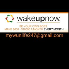 Be part of my Dream Team... Please watch this free video, you'll be glad you did Maddy830.wakeupnow.com