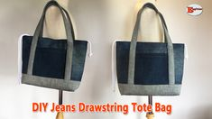 Diy Bags Tutorial, Purse Tutorial, Sewing Projects For Beginners, Sewing Tutorials, Video Tutorials, Fabric Scraps, Diy Hairstyles, Pouch, Tote Bag