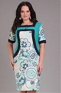 Платье синее - белое с накидкой, роза - заказать и купить с доставкой в интернет-магазине «L'MARKA»