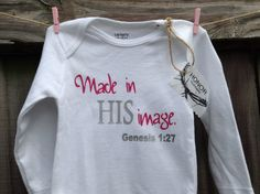 Made in HIS imageChristian long sleeve girl by beautifulhonor, $13.00