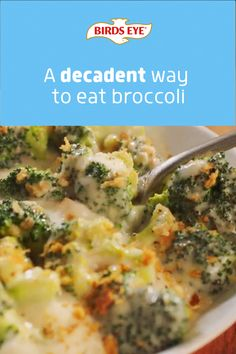 Dig in to broccoli covered in a creamy cheddar and parmesan sauce, then topped with crunchy breadcrumbs. This decadent side dish is ready in minutes in the microwave.​