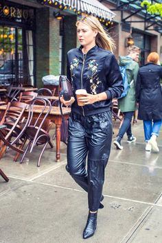 Maria Sharapova leaves Her Hotel in NYC