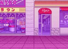 65 images about Color (Pixels) on We Heart It Aesthetic Gif, Aesthetic Pictures, 8 Bit Art, Japan Illustration, Sailor Moon Fan Art, Vaporwave Art, Old Anime, Retro Video Games, Retro Art