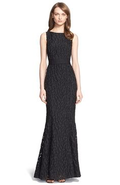 St. John Collection Cheetah Fil Coupé Gown available at #Nordstrom