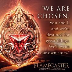 Here's a #Flamecaster #bookquote that I hadn't seen yet! I am LOVING this book by @CindaChima!