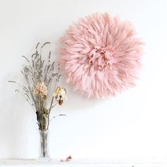 Working on a customs order. The New Year begins in soft pink heus. #jujuhat #softpink #pink #pastel #rose #soft #feathers #interiordesign #interiordecor #handmade #decor #colorcrush #chicdecor #plume #kronbalijujuhat #walldecor #homedecor #homedecoration #powderpink #deco #home #boholuxe
