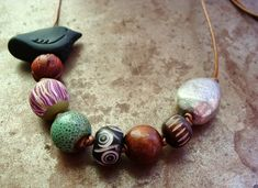 Humblebeads Blog: Birds & Blooms Knotted Necklace Tutorial