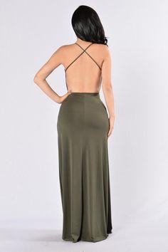 Dream of Me Dress - Olive