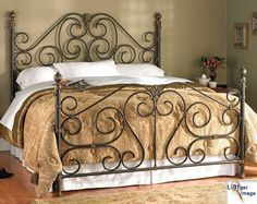 So into iron beds!