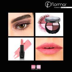 El Poder del rosa: recomendamos nuestro Cuarteto Eye shadow 402 con Revolution Lipstick R01 para un aspecto magnífico