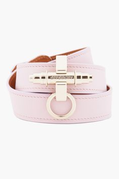 The soft shade of pink makes this hardware-laden leather wrap an unequivocally feminine accessory. Givenchy via SSENSE #SephoraColorWash