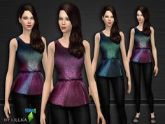 The Sims Resource: Touch of Glitter - Set by lillka • Sims 4 Downloads [ X ] Downloaded