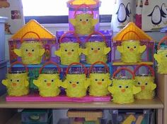 easter craft for kids Easter Activities For Kids, Easter Crafts For Kids, Easter Art, Easter Eggs, Duck Crafts, Chicken Crafts, Rustic Crafts, Spring Crafts, Animals For Kids