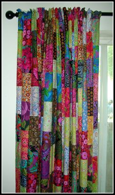 Mothers know mothers Interview: Michelle Griesel - Patchwork Patchwork Curtains, Bohemian Curtains, Colorful Curtains, Bohemian House, Bohemian Decor, Cortina Boho, Cortinas Country, Plywood Furniture, Design Furniture