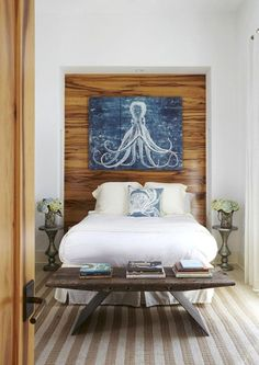 16 Breezy Beach Bedroom Designs | Design Listicle #Coastalbedrooms