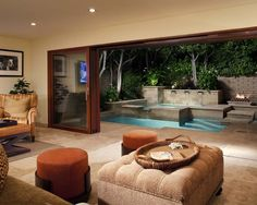 Finshed Basements Design, Pictures, Remodel, Decor and Ideas - page 26.  Dream pool for yard!