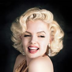 Marilyn Monroe Blonde Wig Synthetic Short Wigs For Black/White Women Natural Blonde Curly Wig Cosplay Cheap Hair Wigs For Women Blonde Curly Wig, Curly Wigs, Hair Wigs, Short Blonde, Street Marketing, Vintage Hairstyles, Wig Hairstyles, Red Lace Front Wig, Marilyn Monroe Hair