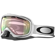 Oakley Unisex-Adult Elevate Snow Goggle(Polished White,VR50 Pink Iridium) * To view further for this item, visit the image link.