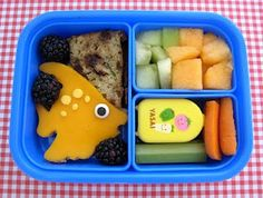 My kid would love to open his lunch box and find this!