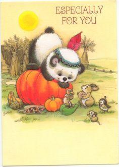 Especially for you Thanksgiving card