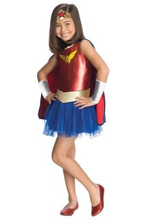 Wonder Woman Tutu Toddler Costume This costume includes a dress, cape, belt, gauntlets and headpiece. Does not include shoes. This is an officially licensed DC Comics costume. Weight (lbs) 0.54 Length