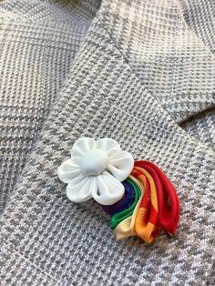 Rainbow Of Hope Lapel Pins Mens Lapel Pin Rainbow Lapel Pin | Etsy