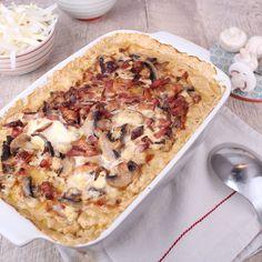 Ein Rezept für einen Filettopf mit Champignons, das schnell gekocht ist, sich prima vorbereiten lässt und nicht nur bei LCHF hervorragend schmeckt.