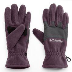 Women's Columbia Thermal Coil Gloves, Size: Medium, Purple