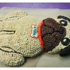 Pug Cake [I have some people to make this for] :)