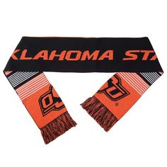 Adult Forever Collectibles Oklahoma State Cowboys Reversible Scarf, Black