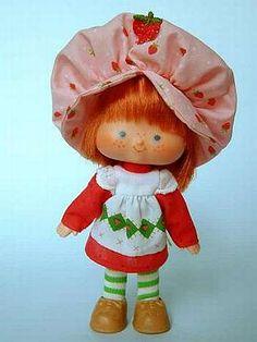 bonecas turma da moranguinho estrela anos 80 - Pesquisa Google