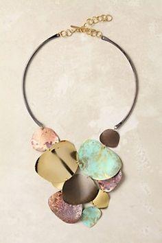 Anthropologie Melded Metals Necklace.