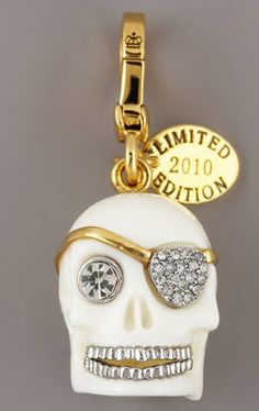 01a11304e 2010 Limited Edition Skull Charm Juicy Couture Bracelet, Juicy Couture  Jewelry, Juicy Couture Charms