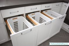Downstairs Laundry Room - The Sunny Side Up Blog