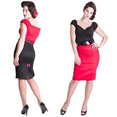 6e6ab3aa36b14 Falda Mujer Betty Lou Vintage Rockabilly Pinup Ajustada Formal De Tubo