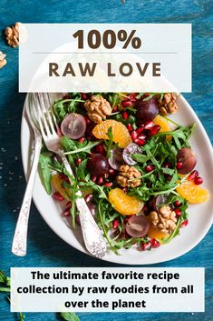 Have you ever wondered what the world's leading raw foodies favourite recipes are? Wonder no longer – they are all in this book!  100% RAW LOVE contains exclusively tried, tested and served recipes – a satisfaction guarantee!  You will also find a bit of information and contact details of each recipe creator on their recipe's page.  100 colour pages PLUS freebies for you! Page Plus, Recipe Creator, Recipe Collection, Raw Food Recipes, Love Food, Foodies, The 100, Favorite Recipes, Colour