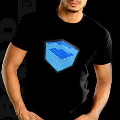 Fourth Dimension Equalizer Rave Cube T-Shirt With Sound Sensor. Price $24.99