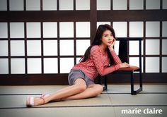 Ha Ji Won & Chen Bo Lin Are Loved Up in Japan for Marie Claire Korea | Couch Kimchi