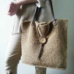 Image Article – Page 501729214739066983 Free Crochet Bag, Crochet Tote, Crochet Handbags, Crochet Purses, Fabric Purses, Fabric Bags, Handmade Handbags, Handmade Bags, Jute Tote Bags