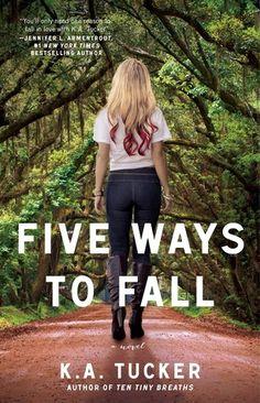 #REVIEW @AtriaBooks Five Ways To Fall @KathleenATucker