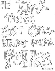 Quote From To Kill A Mockingbird Coloring Page