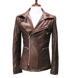Leather Jacket #121 - 50 Colors [Leather Jacket - #121] - $170.00 : LeatherCult.com, Leather Jeans   Jackets   Suits