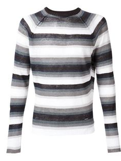 DIESEL Striped Sweater. #diesel #cloth #sweater